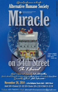 Miracle on 34th Street, The Musical @ Bellingham Theatre Guild | Sacramento | California | United States