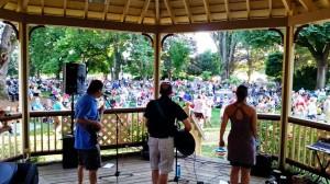 Elizabeth Park Summer Concert Series 2015: D'Vas and Dudes @ Elizabeth Park | Bellingham | Washington | United States
