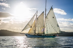Salmon Dinner Sail @ The Schooner Zodiac   Bellingham   Washington   United States