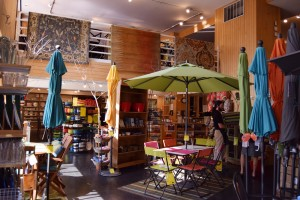 The bright, airy store encompasses three floors and 15,000 square feet.