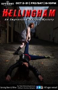 Hellingham - An Improvised Murder Mystery @ The Upfront Theatre | Bellingham | Washington | United States