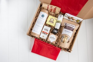 The ACME Farms + Kitchen Founders' Favorite Box is one of four special holiday boxes that can be shipped anywhere in the United States. Photo credit: Tiffany Brooks Photography.