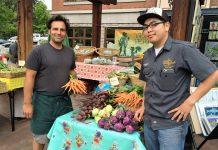 Bellingham Farmers Market Chef Andy Nguyen/Terra Verde Garden's Skuter Fontaine
