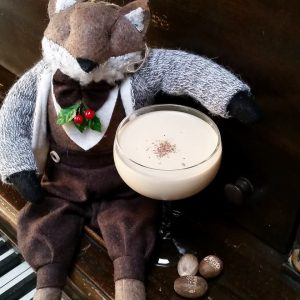 The Real McCoy's Fer-Noggin' is served chilled, but it will definitely leave you feeling warmed-up. Photo courtesy: The Real McCoy.