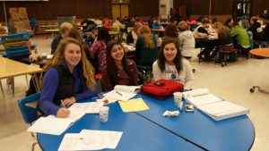 Mentoring gives students a chance to catch up on school work. Photo courtesy: Sehome HIgh School.