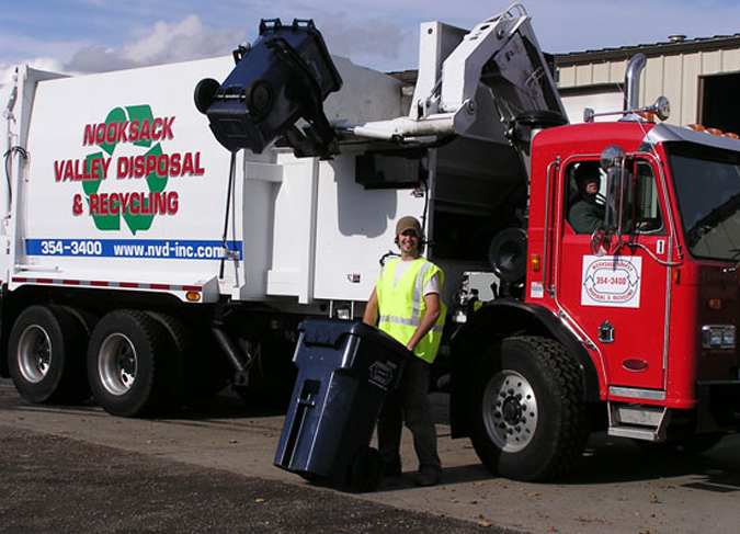 Sanitary Service Bellingham : Nooksack valley disposal customers recycling more food