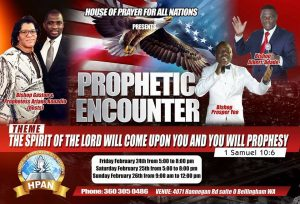3 Day Prophetic Encounter @ The Spirit of the Lord | Bellingham | Washington | United States