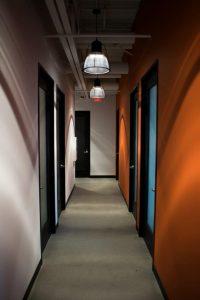Professional doors open when selecting one of Regus' global properties. Photo courtesy: Regis.