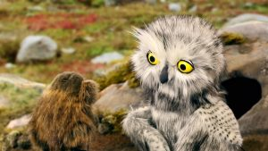 The Owl and the Lemming will show at the Bellingham Children's Film Festival. Photo courtesy: Pickford Film Center.