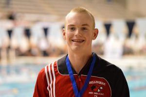 Bellingham senior Brisen Pearson won two state championships at the Class 2A swim and diving meet. Photo credit: Grant Clark.