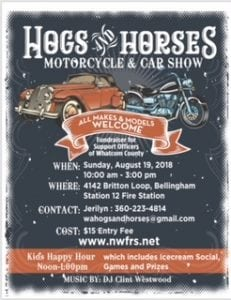 Hogs and Horses Motorcycle/Car Show @ Fire Station 12 | Bellingham | Washington | United States