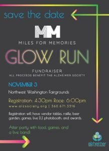 Miles for Memories Glow in the Dark  5KWalk/Run @ Northwest Washington Fairgrounds | Lynden | Washington | United States