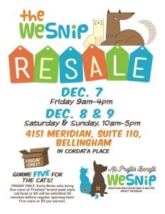 December WeSNiP Fundraiser @ Cordata Place | Bellingham | Washington | United States