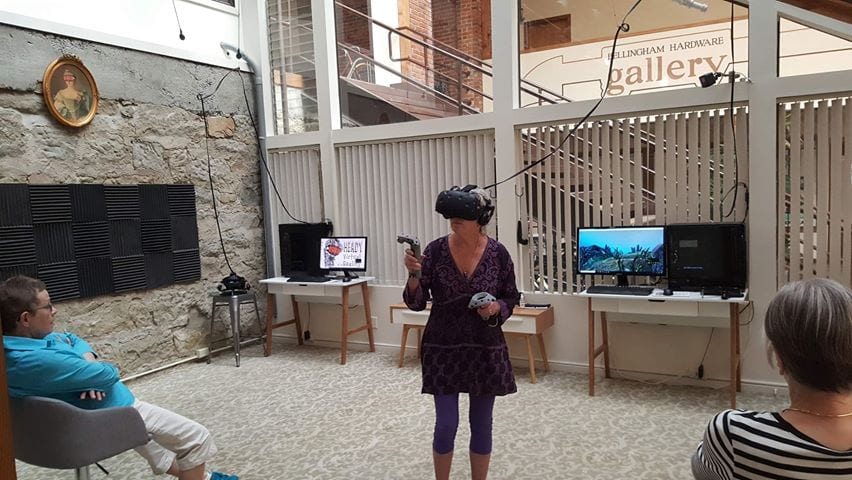 Heady Virtual Reality Helps Seniors Experience Another World