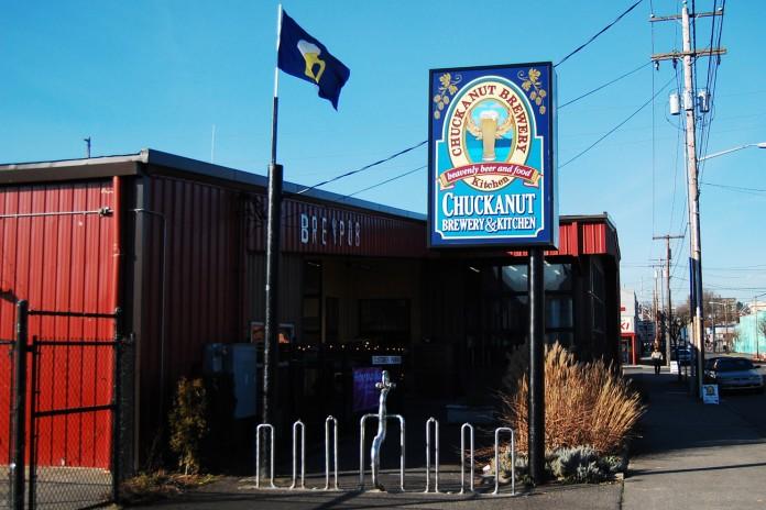 Chuckanut Brewery in Bellingham.