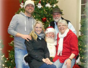 Santa comes to BelleWood Acres @ BelleWood Acres