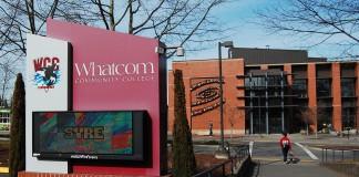 Entrance to Whatcom Community College.