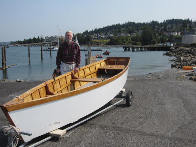 row boat replica
