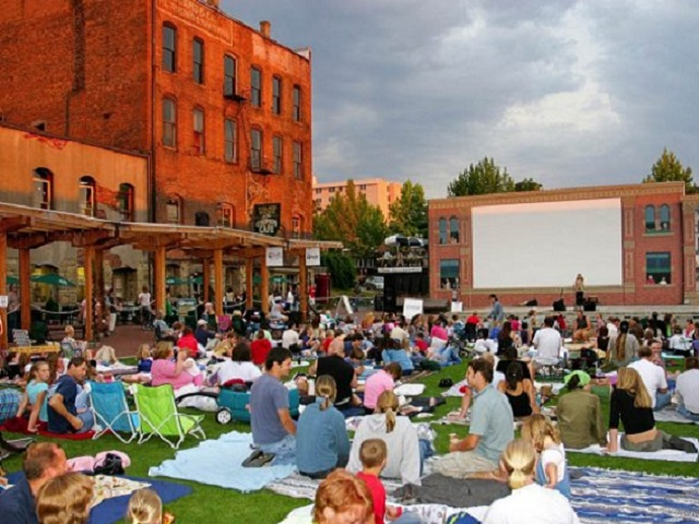 bellingham outdoor movie