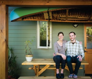 Improvements by Annie and Jeff Aslan have resulted in Net Zero status for their KCLT home this year. Photo credit: David Johnston.