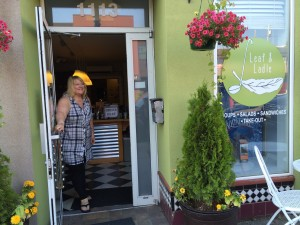 Linda Melim of Leaf and Ladle opens her doors for Thursday night Supper Club, giving the dinner crowd an opportunity to sample her inventive menu.