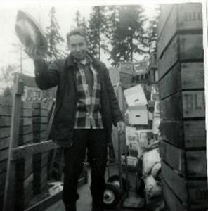 Founder of Country Farms Jay Waters poses for camera back in the late 1940s.