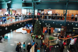 The Holiday Port Festival draws huge crowds each year, who come to see the gingerbread contest, visit with Santa, enjoy music and dance performances, and more.