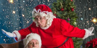 Santa and Mrs. Clause