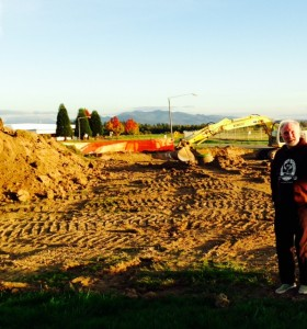 Chuckanut Brewery has started construction of its new Skagit production facility. Photo courtesy: Chuckanut Brewery.