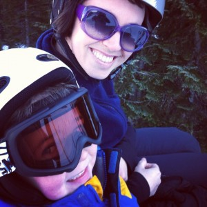 The beginner chairlift is intentionally slow, to give kids a break and make sure they get on and off safely.
