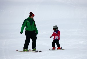Young children enjoy lessons from expert instructors at Mount Baker.