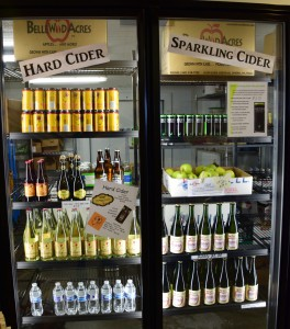 BelleWood uses its leftover apples to create effervescent bottles of hard and sparkling ciders.