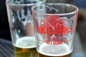 """""""Get Some"""" local craft beer at Kulshan Brewery."""