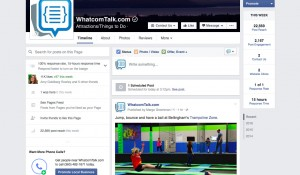 WhatcomTalk distributes content via social media sites like Facebook to reach more than 57,000 unique viewers.