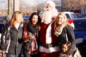 From music to roving Santas, downtown is full of charm during Shop Small Saturday. Photo courtesy: Downtown Bellingham Partnership.