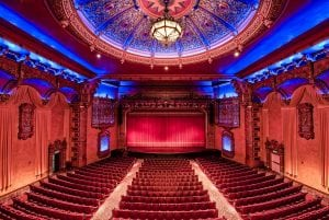 Significant effort has been invested to preserve the elements of the original movie palace's Moorish-Spanish style. Photo credit: Damian Vines Photography.