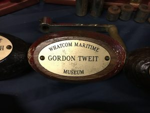This fundraiser tribute honored Gordon Tweit for his many contributions to the Whatcom Maritime Association. Photo credit: Dondi Tondro-Smith.