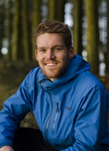 Kjell Redal, 22, says his outdoor pursuits and travel experiences help define who he is. Photo credit: Andrew Jernberg.