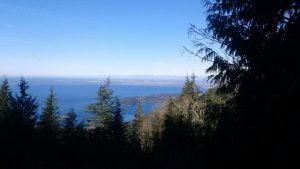 This breathtaking view is from Double Black and Double Down on Chuckanut. Photo credit: Kevin Bailey.