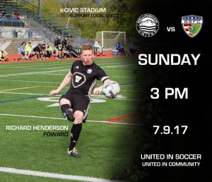 Semi Pro Soccer: Bellingham United FC vs South Sound Shock @ Civic Stadium