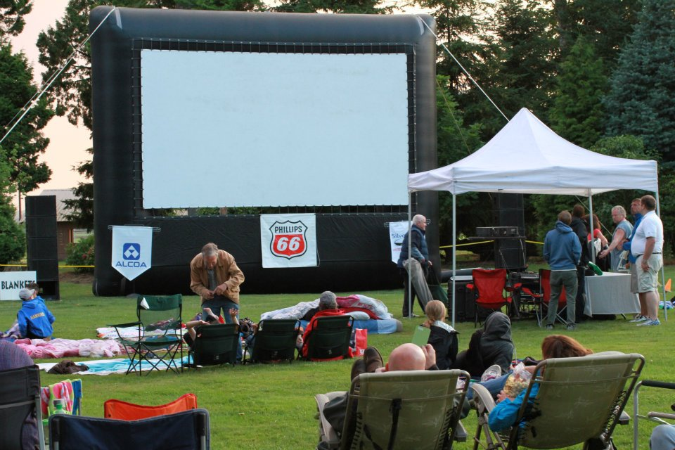 Ferndale's Flicks in the park
