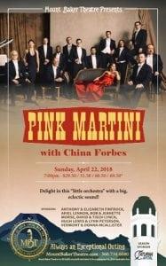 Pink Martini @ Mount Baker Theatre   Bellingham   Washington   United States