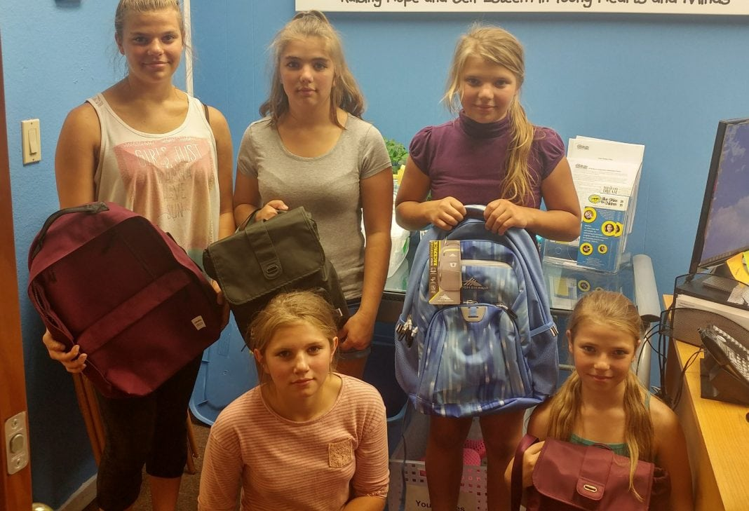 Blue Skies for Children'sBack to School Backpack