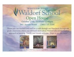 Whatcom Hills Waldorf School Open House @ Whatcom Hills Waldorf School | Bellingham | Washington | United States