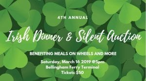 Irish Dinner & Silent Auction @ Bellingham Ferry Terminal
