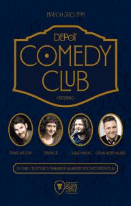 Depot Comedy Club: March Edition @ Aslan Depot