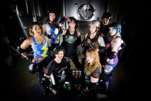 Bellingham Roller Betties Celebrate Collaboration with Boundary Bay Brewery @ Boundary Bay Brewery Mountain Room