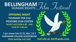 Bellingham Human Rights Film Festival @ Fairhaven College Auditorium