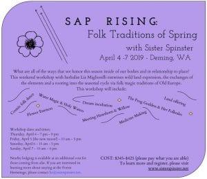 Sap Rising: Spring Folk Traditions @ Turtle Haven Sanctuary