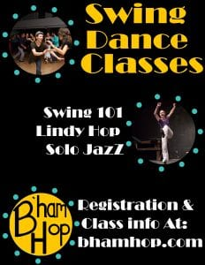 Weekly Swing Dance Classes @ Presence Studio
